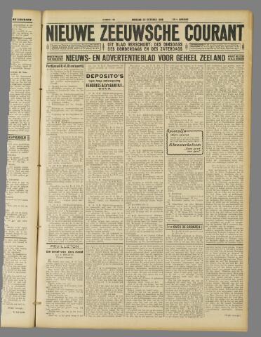 Nieuwe Zeeuwsche Courant 1929-10-22