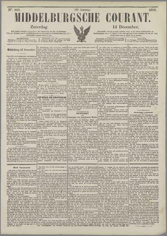 Middelburgsche Courant 1895-12-14
