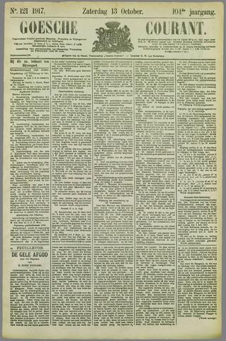 Goessche Courant 1917-10-13