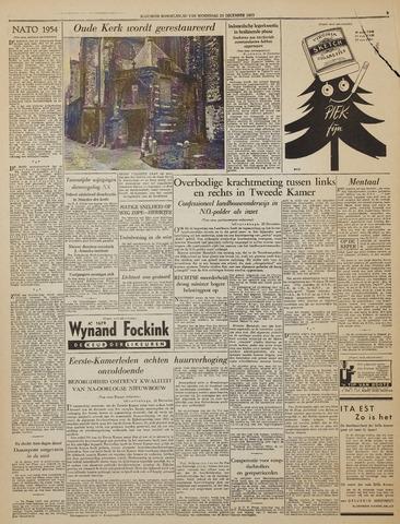 Watersnood documentatie 1953 - kranten 1953-12-23