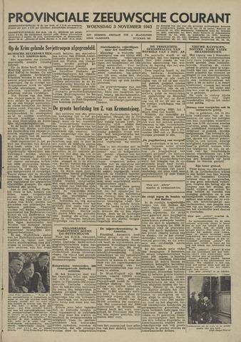 Provinciale Zeeuwse Courant 1943-11-03