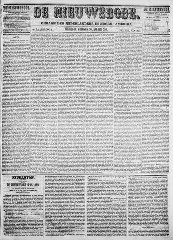 Sheboygan Nieuwsbode 1857-01-20