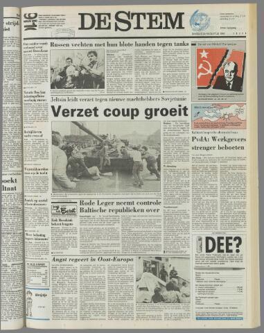 de Stem 1991-08-20