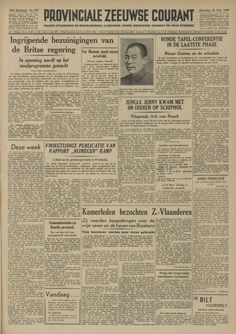 Provinciale Zeeuwse Courant 1949-10-22