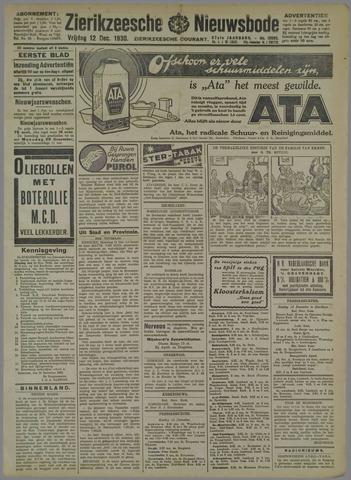 Zierikzeesche Nieuwsbode 1930-12-12