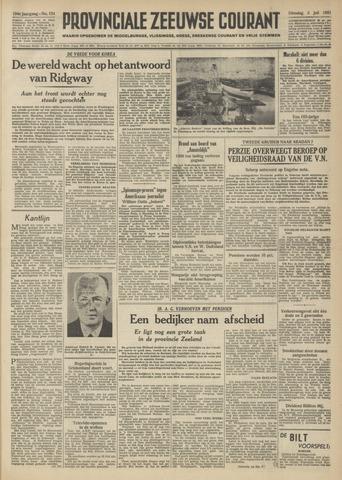Provinciale Zeeuwse Courant 1951-07-03
