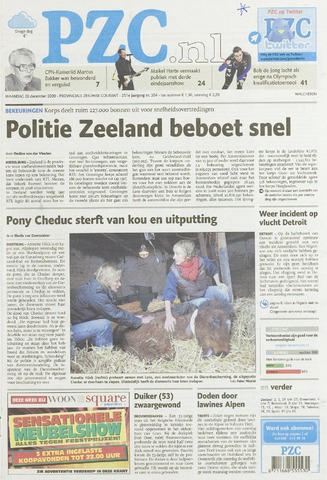 Provinciale Zeeuwse Courant 2009-12-28