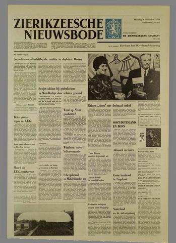 Zierikzeesche Nieuwsbode 1970-11-09