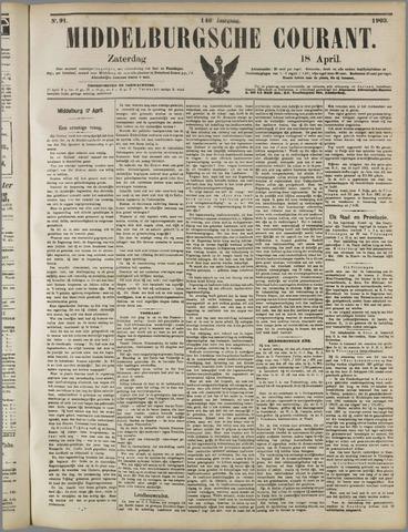 Middelburgsche Courant 1903-04-18