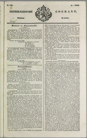 Zierikzeesche Courant 1844-06-28