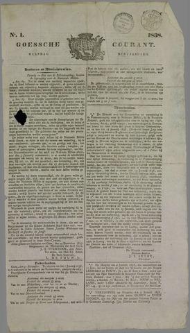 Goessche Courant 1838