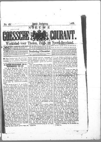 Nieuwe Goessche Courant 1868-12-03