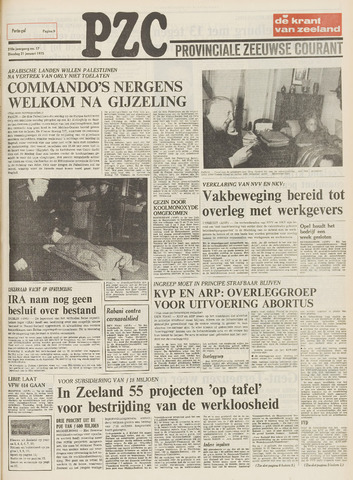 Provinciale Zeeuwse Courant 1975-01-21