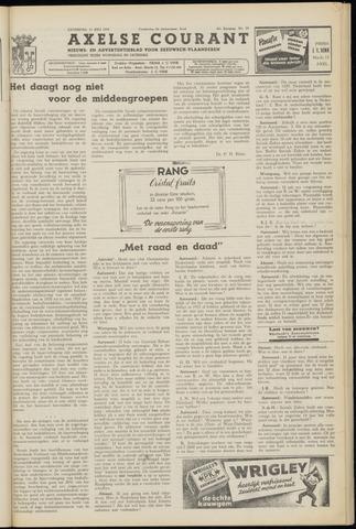 Axelsche Courant 1953-07-11