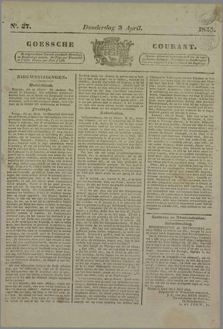 Goessche Courant 1845-04-03
