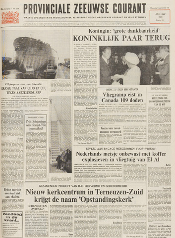 Provinciale Zeeuwse Courant 1971-09-06