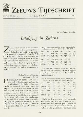 Zeeuws Tijdschrift 1963-11-01