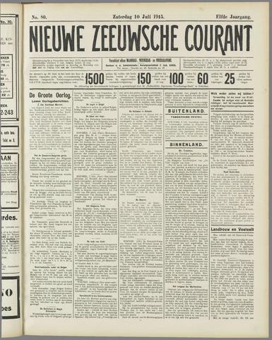 Nieuwe Zeeuwsche Courant 1915-07-10