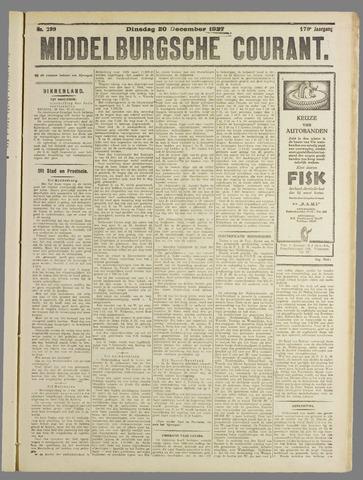 Middelburgsche Courant 1927-12-20