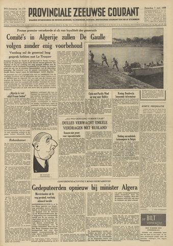 Provinciale Zeeuwse Courant 1958-06-07