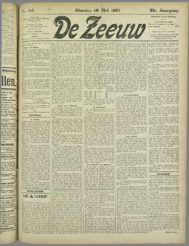 De Zeeuw. Christelijk-historisch nieuwsblad voor Zeeland 1921-05-10