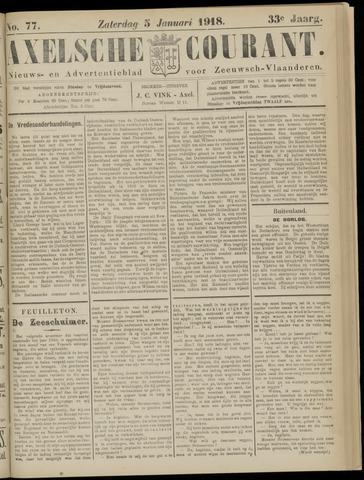 Axelsche Courant 1918-01-05