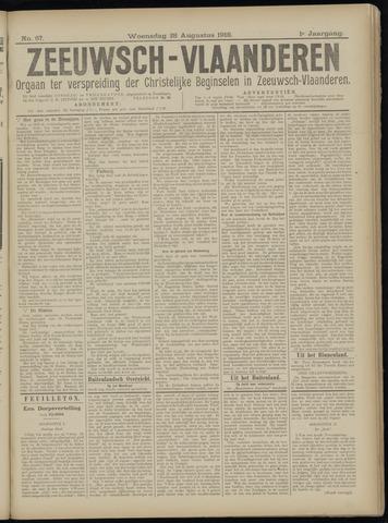 Luctor et Emergo. Antirevolutionair nieuws- en advertentieblad voor Zeeland / Zeeuwsch-Vlaanderen. Orgaan ter verspreiding van de christelijke beginselen in Zeeuwsch-Vlaanderen 1918-08-28