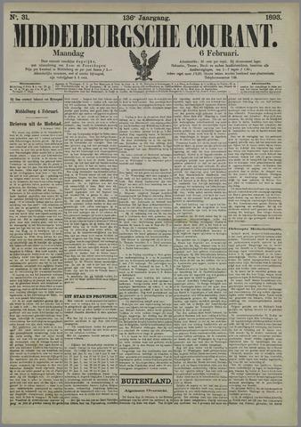 Middelburgsche Courant 1893-02-06