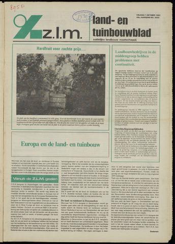 Zeeuwsch landbouwblad ... ZLM land- en tuinbouwblad 1982-10-01