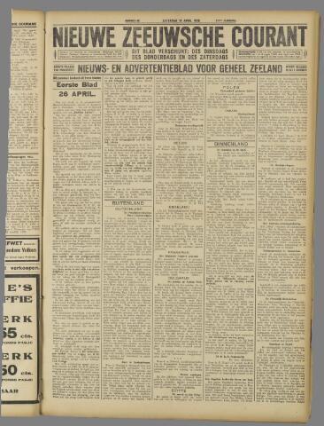 Nieuwe Zeeuwsche Courant 1925-04-18