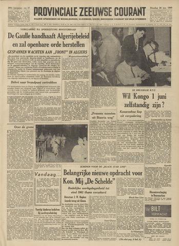Provinciale Zeeuwse Courant 1960-01-26