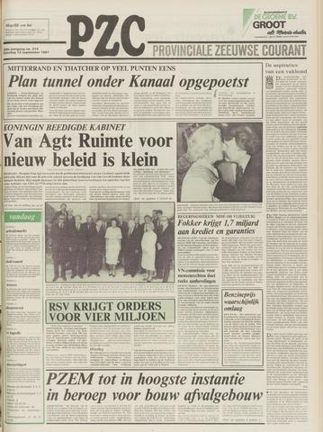 Provinciale Zeeuwse Courant 1981-09-12