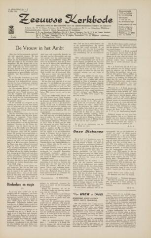Zeeuwsche kerkbode, weekblad gewijd aan de belangen der gereformeerde kerken/ Zeeuwsch kerkblad 1964-07-03
