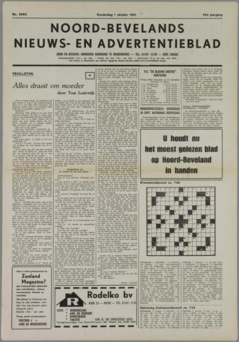 Noord-Bevelands Nieuws- en advertentieblad 1981-10-01