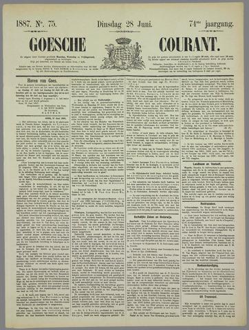 Goessche Courant 1887-06-28