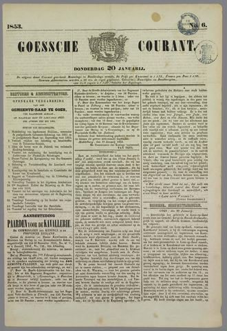 Goessche Courant 1853-01-20