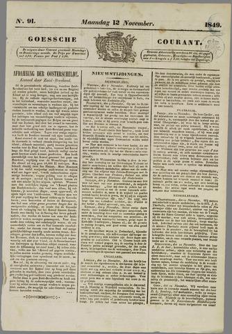 Goessche Courant 1849-11-12