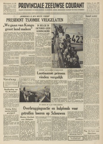 Provinciale Zeeuwse Courant 1961-06-23
