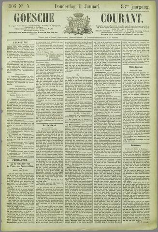 Goessche Courant 1906-01-11