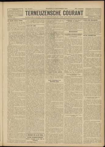 Ter Neuzensche Courant. Algemeen Nieuws- en Advertentieblad voor Zeeuwsch-Vlaanderen / Neuzensche Courant ... (idem) / (Algemeen) nieuws en advertentieblad voor Zeeuwsch-Vlaanderen 1942-09-21