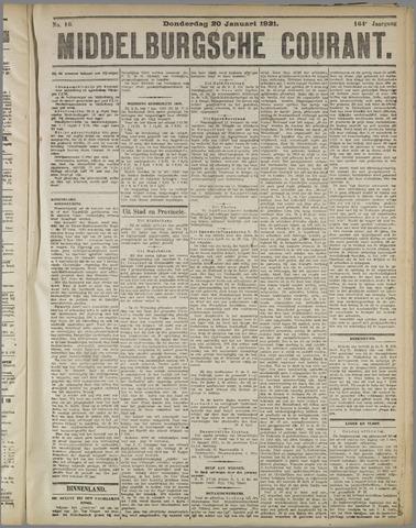Middelburgsche Courant 1921-01-20
