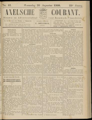Axelsche Courant 1908-08-26