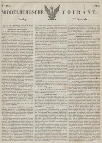 Middelburgsche Courant 1866-11-27