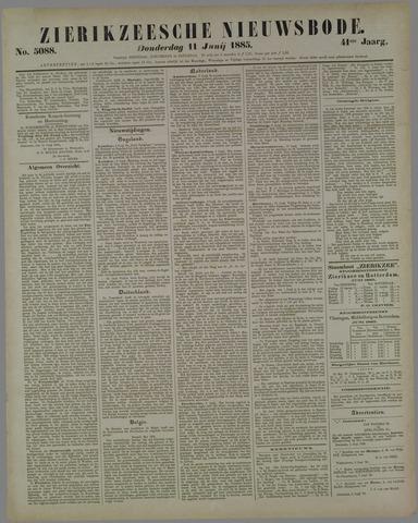 Zierikzeesche Nieuwsbode 1885-06-11