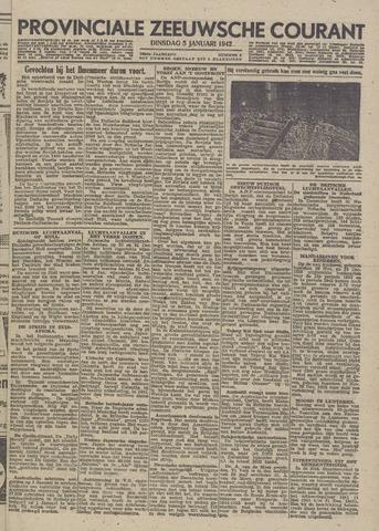 Provinciale Zeeuwse Courant 1943-01-05