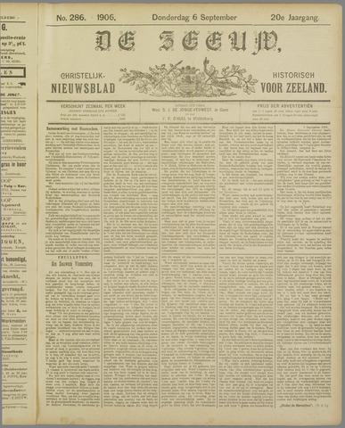De Zeeuw. Christelijk-historisch nieuwsblad voor Zeeland 1906-09-06