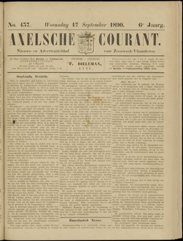 Axelsche Courant 1890-09-17