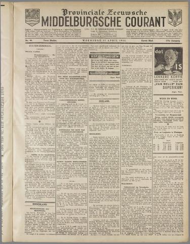 Middelburgsche Courant 1932-04-27