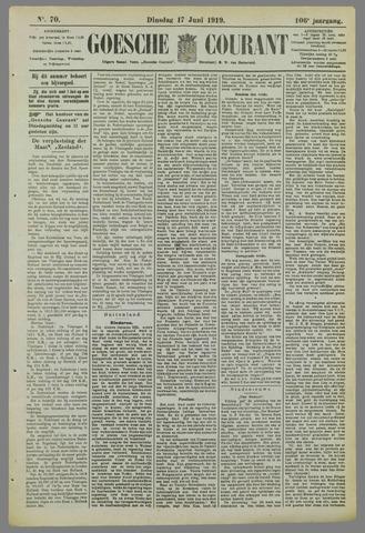 Goessche Courant 1919-06-17