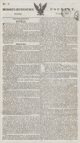 Middelburgsche Courant 1834-01-11